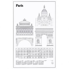 Studio Esinam's Paris Elevations poster