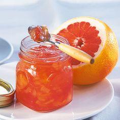 Melonen-Grapefruit-Konfitüre Rezept | Küchengötter