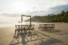 The beach at Manuel Antonio, Costa Rica, outside of Casa Espanola. Photo by nallayerstudios.com.