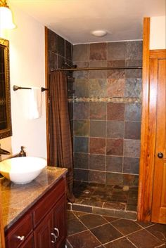 Great Idea For Tiles In The Rustic Bathroom Western Bathroom - Western bathroom remodeling ideas