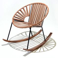 Additional view of Ixtapa Rocking Chair - Leather