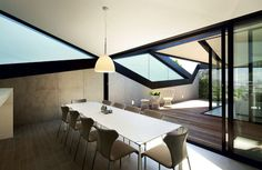 Pitched Roof House - Chenchow Little.