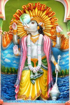 Varaha Avatar - Third Incarnation of Lord Vishnu - Photographic Print - Unframed picclick.com