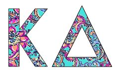 Cute pattern with ΑΧΩ of course!