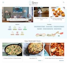 About.com launches The Spruce a standalone site for Home Decor and Food In its continued effort to divide and conquer About.com is launching yet another standalone media brand in the form of The Spruce a site dedicated to home improvement and food.  The new site brings over more than 50000 pieces of content covering home decor/design food and recipes gardening family life crafts and hobbies and pets. The idea here is to combine Abouts how-to expertise with a brand that fits the browsiness of…