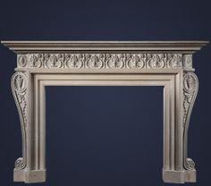The Lauceton Fireplace Mantle from FrancoisAndCo.Com