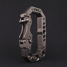 Gatekeeper. EDC keychain carabiner.