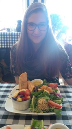 Sep 19th, 2014 Lunch at the Baker Street Cafe in Westboro with my best friend Sophie. I don't know what I would do without her. She goes to Ottawa U, and we've been lucky enough to see each other almost every week since school started.