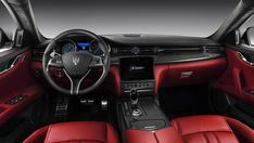 Интерьер седана Maserati Quattroporte 2017 / Мазерати Кваттропорте 2017