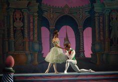Der Nussknacker, Ballett, Baranovsky, Masha - Nadeshda Gonchar und Vladimir Shklyarovr Prinz - Mariinsky Theater, St.Petersburg.