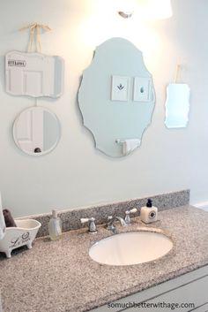 Vintage+Bathroom