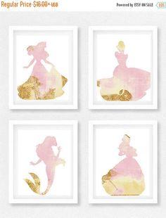 SPRING SALE Disney princess nursery Girls room Princess