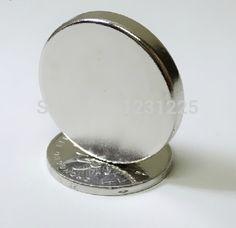 20pcs Bulk Super Powerful Strong Small Round NdFeB Neodymium Disc Magnets Dia 30mm x 5mm N50 Rare Earth NdFeB Magnet