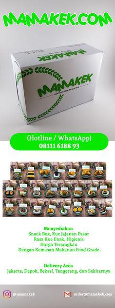 MAMAKEK - Menyediakan Snack Box, Kue Jajanan Pasar, Rasa Kue Enak, Higienis, Kemasan Food Grade, Dan Harga Terjangkau. Delivery Area Jakarta, Depok, Bekasi, Tangerang, dan Sekitarnya