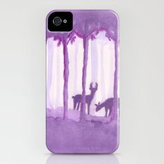 a forest iPhone Case by Federico Faggion - $35.00