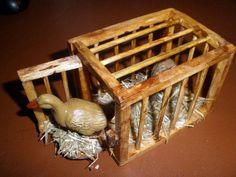 Käfig/Stall für eine alte Küche