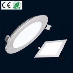 Ultra Slim Dimmable Epistar Recessed LED Panel Light Ceiling Flat Down Lights Home, Furniture & DIY