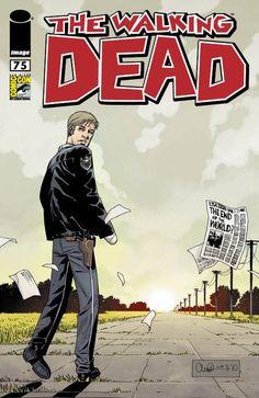 Capa Alternativa da Edição #75 de The Walking Dead
