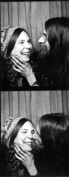 Felicity and Ryan. #vintage #photobooth #1970s