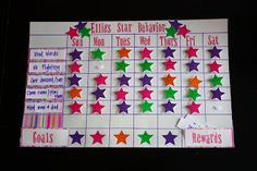 Sunny Side Up: Star Behavior Charts -adds a goal to work towards for the week (things you were already going to do anyway - very easy!)