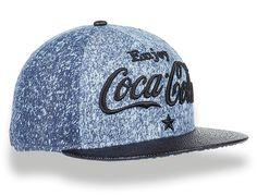 Speckled Denim 9Fifty Strapback Cap by COKE x NEW ERA