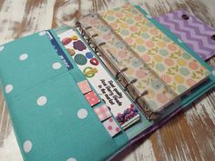 Filofax Cover - Filofax Sleeve - Filofax Wallet - Fillofax Compact Size - Custom Order - Choice of Fabric --Planner Wallet
