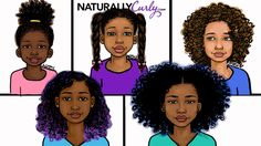Age Appropriate Hairstyles for Curly Kids ➤ http://www.naturallycurly.com/curlreading/home/what-is-an-age-appropriate-hairstyle/