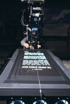 Star Wars back story. Link is 45 Behind The Scenes Photos That You've Probably Never Seen Before