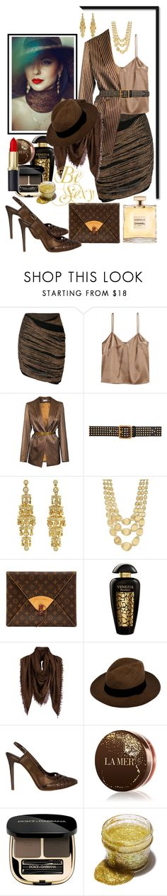 """Be sexy"" by jaja8x8 ❤ liked on Polyvore featuring Balmain, JIRI KALFAR, Alexander McQueen, Marco Bicego, Louis Vuitton, The Merchant Of Venice, Massimo Alba, La Mer, Dolce&Gabbana and Trash Cosmetics"