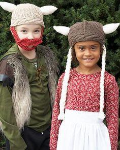 Knitting Patterns Galore -  Hagar & Helga Hats