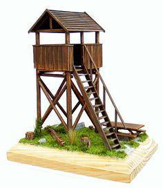 Lookout tower, torre di avvistamento.