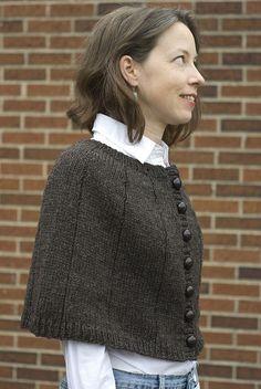 Ravelry: Alice's Capelet pattern by Virginia Sattler-Reimer