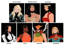 Who Run The World? Girls: Nine Unbeatable All-Lady Justice League Line-Ups