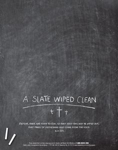 A slate wiped clean… Repent, then, and turn to God, so that your sins may be wiped out. That times of refreshing may come from the Lord Acts Times Of Refreshing, Guilt Trips, Holiday Messages, Word Of God, Gods Love, Inspire Me, Forgiveness, Wise Words, Cleaning Wipes