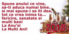 Anul Nou La multi ani, 2018! An Nou Fericit, Happy New Year, Calendar, Quotes, Christmas, Design, Cook, Recipes, Quotations