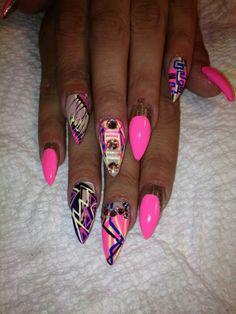 Ghetto fab nails