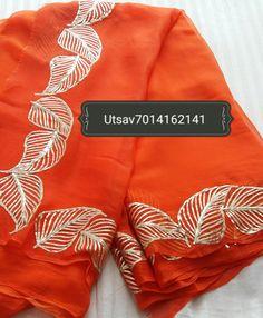 Designer Punjabi Suits Patiala, Punjabi Suits Designer Boutique, Indian Designer Suits, Embroidery On Clothes, Embroidery Fashion, Embroidery Dress, Machine Embroidery, Simple Embroidery Designs, Embroidery Suits Design