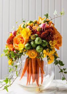 Flower arranging...