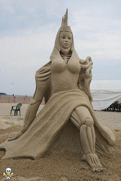 Sand art ... photo by Grain Damaged, via Flickr