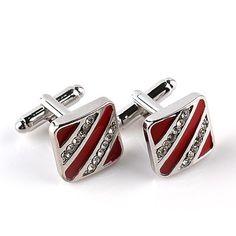 Stylish French Cufflinks Imitation Diamond Cufflinks For Unisex Shirt Cuffs AG Le Mans, Online Fashion, Smoking, Shirt Cuff, Unisex, Wedding Men, Elegant Wedding, European Fashion, Classic Fashion