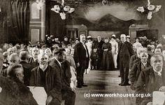 Burnley workhouse inmates, c.1909.