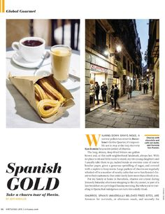 Barcelona's best Churros. Culinary shooting for Virtuoso Life - Miquel Gonzalez Portrait Food Photographer, Barcelona, Spain