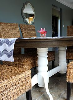 DIY Refinish A Dining Table Fresh Crush Refinished Oak With