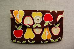 Apple Envelope Clutch | AllFreeSewing.com