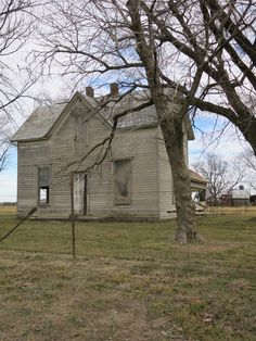 If these walls could talk.....I love the style of this old farmhouse.
