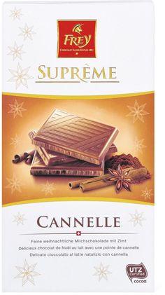 Frey Supreme Zimt-Schokolade