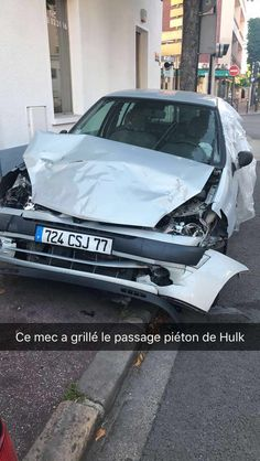 #blague #lol #voiture #hulk #car #oseille #france #french #adulescent #youngadult #Snapchat