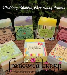 10 Travel Custom Wedding / Bridal Shower Favors