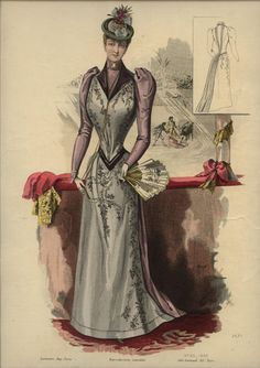 LA REVUE DE LA MODE  ... dated August 16, 1890