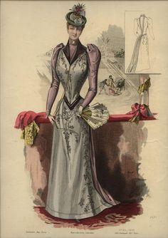 LA REVUE DE LA MODE  ... dated August 16, 1890